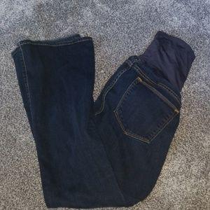 Gap maternity sext boot cut jeans.